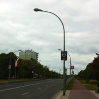 Bunte Liste im Stadtbild